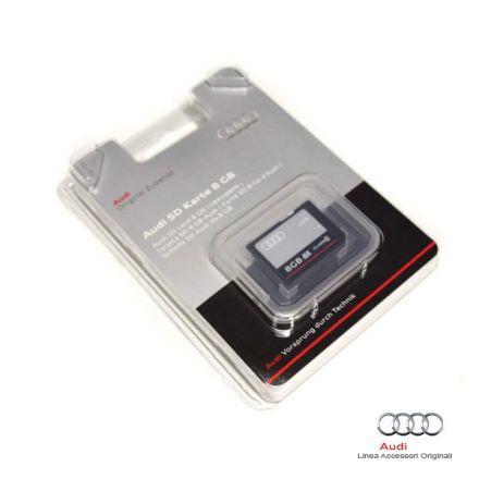 Scheda di memoria Audi 8GB SDHC