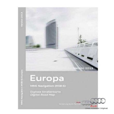 Cartografia scheda SD Europa 2013 - Audi A3 8V