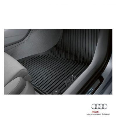 Tappetino anteriore in gomma nera - Audi A7 4G