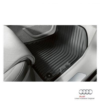 Tappetino anteriore in gomma nera - Audi A8 4H