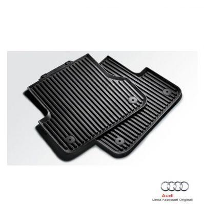 Tappetino posteriore in gomma nera - Audi Q7 4L