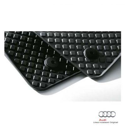 Tappetino anteriore in gomma nera - Audi A4 8E