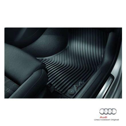 Tappetino anteriore in gomma nera - Audi A4 8K
