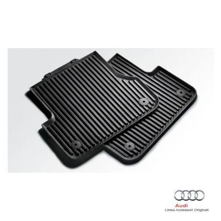 Tappetino posteriore in gomma nera -  Audi A3 8P e 8PA