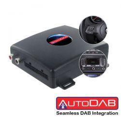 AutoDAB® DAB / DAB+ integration  VW Seat Skoda Radio / Navigazione con connettore Quadlock - Con volante multifunzione