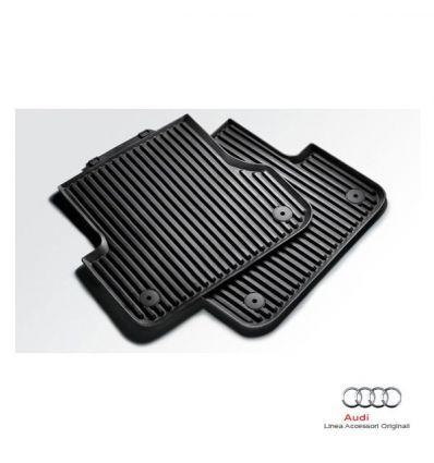 Tappetino posteriore in gomma nera - Audi A5 Coupe' e Cabrio