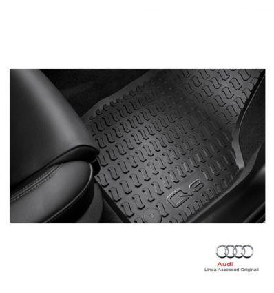 Tappetino anteriore in gomma nera - Audi Q3 8U