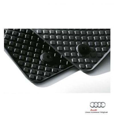 Tappetino anteriore in gomma nera - Audi A2 8Z