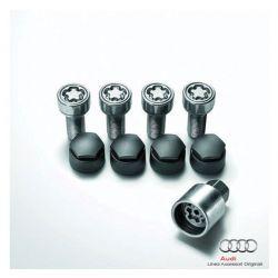Bulloni ruota antifurto - A1, A3, A3 Cabrio, S3, TT, TTS, A4, A5, A5 Cabrio, A6, A7
