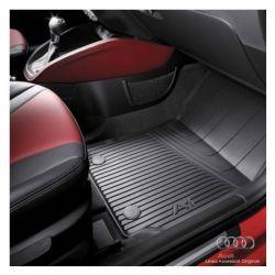 Tappetino anteriore in gomma nera - Audi A1 8X