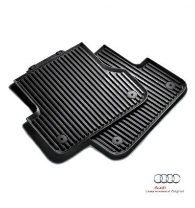 Tappetino posteriore in gomma nera - Audi A1 8X