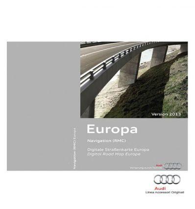 Cartografia scheda SD Europa 2013 - Audi A1, Q3, A6 4G, A7