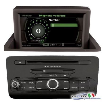 Bluetooth Handsfree - Upgrade - Audi A1 8X