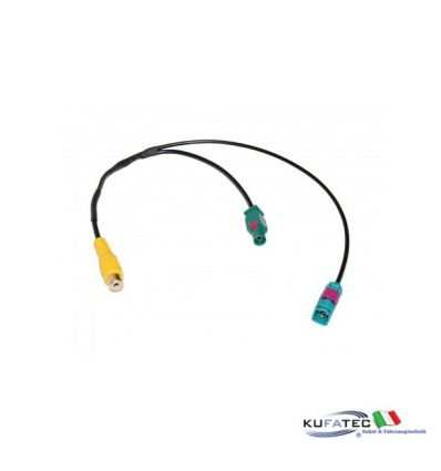 Video Junction Adapter - FAKRA Cinch