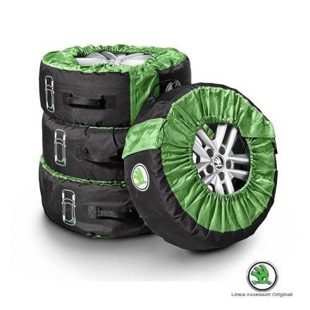 Set borse porta pneumatici Skoda