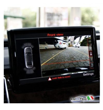 APS Advanced - Front + Rear View Camera - Retrofit - Audi A8 4H da 2012