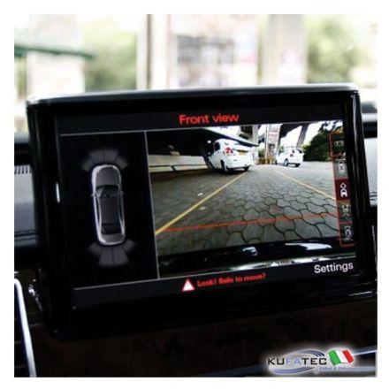 APS Advanced - Front + Rear View Camera - Retrofit - Audi A8 4H da 2012