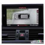 Surroundings camera - 4 Camera System - Audi A6 4G A7 4G con Front + Rear View Camera