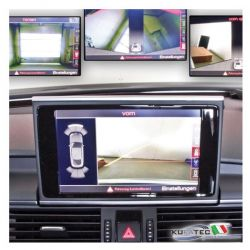APS Advanced - Front + Rear View Camera - Retrofit - Audi A7 4G da 2012