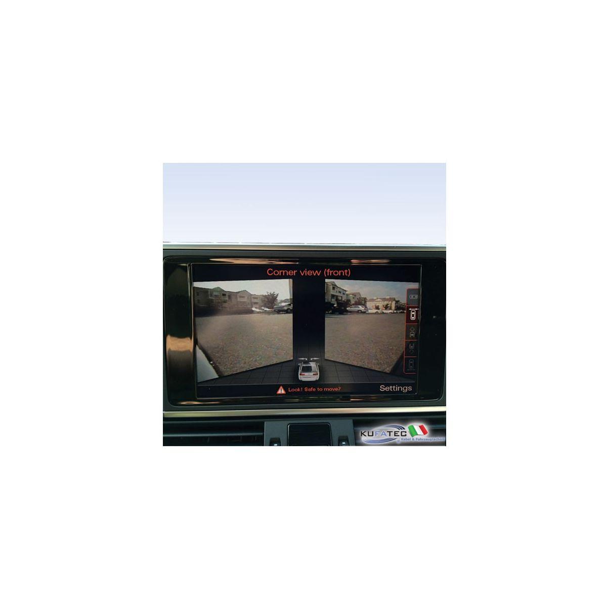 Aps Advanced Front Rear View Camera Retrofit Audi A7 4g Da 2012 Navistore