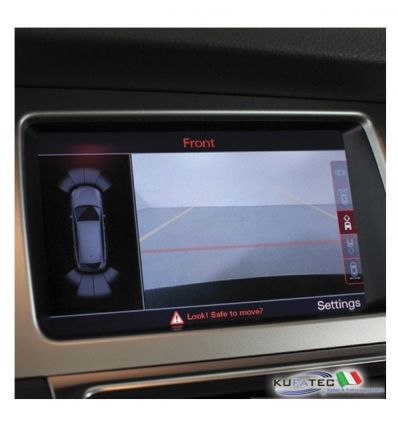 APS Advanced - Front + Rear View Camera - Retrofit - Audi Q7 4L da 2012