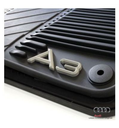 Tappetini in gomma speciale - Audi A3 (AB2) - Kit completo 4 pezzi