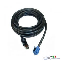 Wiring harness CD-changer Audi - Quadlock - round connector - 5m