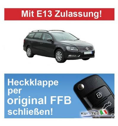 Modulo chiusura comfort bagagliaio - VW Passat B7 Variant