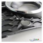 Set griglie inferiori Anteriori con supporti sensore - Audi Q5 8R allestimento S-Line Exterior, SQ5 da my 2013