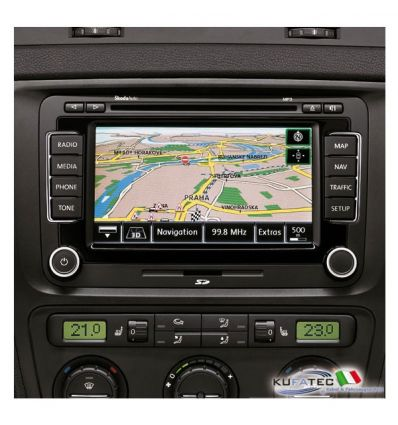 "Radio Navigation System Columbus, display touch 6,5"" - Retrofit - Skoda"