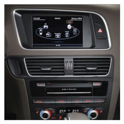 Audi Infotainment MMI High 3G+, incl. Navigation HDD - Retrofit - Audi Q5 8R Facelift