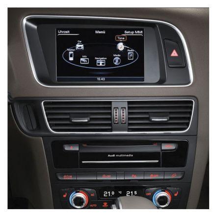 Audi Infotainment MMI High 3G+, incl. Navigation HDD - Retrofit - Audi Q5 8R Facelift