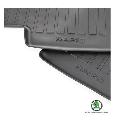 Tappeti gomma - Kit 4pz - Rapid
