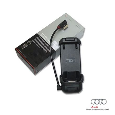 Basetta per iPhone 4/4S con connessione Audi Music Interface