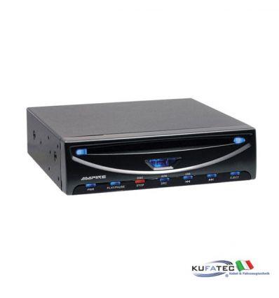 DVD player con interfaccia USB  (3/4 DIN)