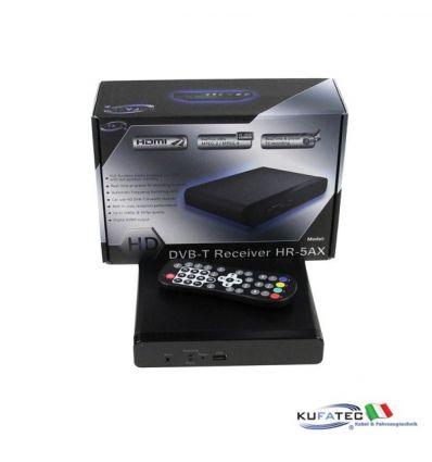 Kufatec DVB-T HR-5AX - HD - MPEG4 - USB Recorder