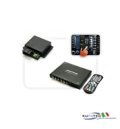 Tv Receiver Ampire DVB-T 400-HD + Multimedia Adapter CAN - con OEM Control - Audi, Mercedes, VW