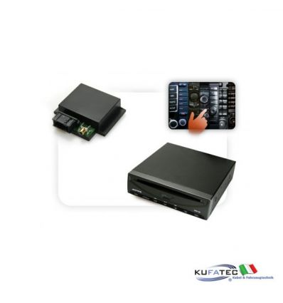 DVD Player Ampire DVX102+ Multimedia Adapter CAN - con OEM Control - Audi, Mercedes, VW