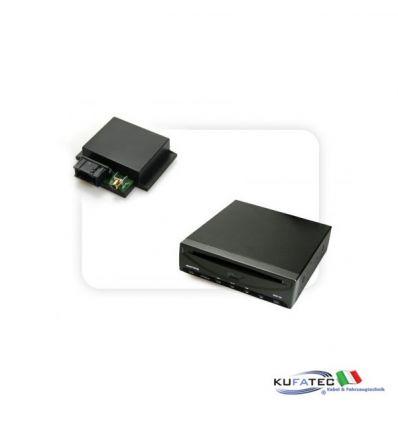DVD Player Ampire DVX102 + Multimedia Adapter CAN - senza OEM Control - Audi, Mercedes, VW