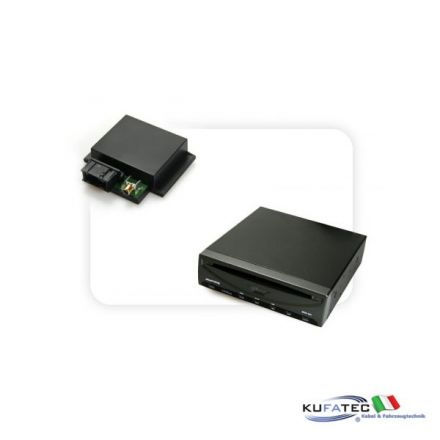 DVD Player Ampire DVX102 + Multimedia Adapter CAN - senza OEM Control - Audi, Mercedes, VW