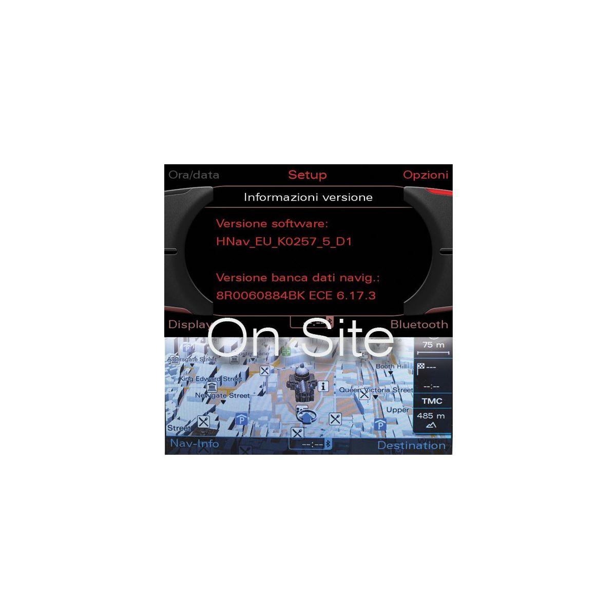 Audi Mmi 3g firmware Navigation Dvd
