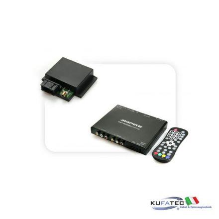 Tv Receiver Ampire DVB-T 400-HD + Multimedia Adapter CAN - senza OEM Control - Audi, Mercedes, VW