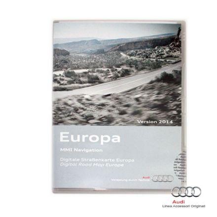 Cartografia DVD Europa 2014 - Audi MMI 3G Basic