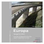 Cartografia scheda SD Europa 2014 - Audi A1, Q3, A6 4G, A7