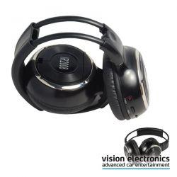Cuffia IR pieghevole 2 canali IR-2008D - Vision system
