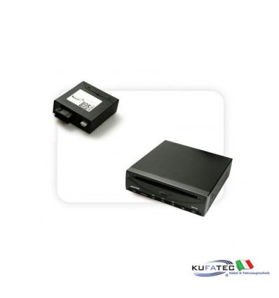 DVD Player Ampire DVX200i + Multimedia Adapter MOST - senza OEM Control - Audi MMI High 2G / 3G
