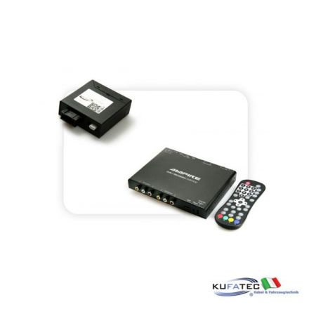 Ampire DVBT400-HD + Multimedia Adapter MOST - senza OEM control - Audi MMI High 2G / 3G
