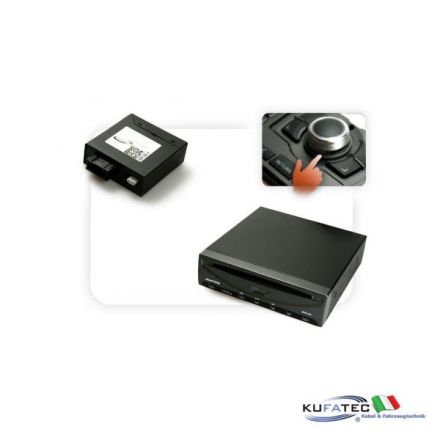 DVD Player Ampire DVX200i + Multimedia Adapter MOST - con OEM Control - Audi MMI High 2G / 3G