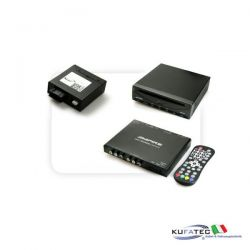DVD Player Ampire DVX200i + Ampire DVBT400-HD + Multimedia Adapter MOST - con OEM Control - Audi MMI High 2G / 3G