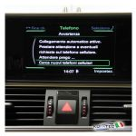 "Bluetooth Handsfree - Audi A6 4G A7 4G con RMC Radio Basic - ""Bluetooth Only"""